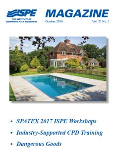 ISPE Magazine October 2016 Vol 27 No3