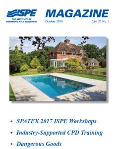 ISPE Magazine October 2016 Vol 27 No3